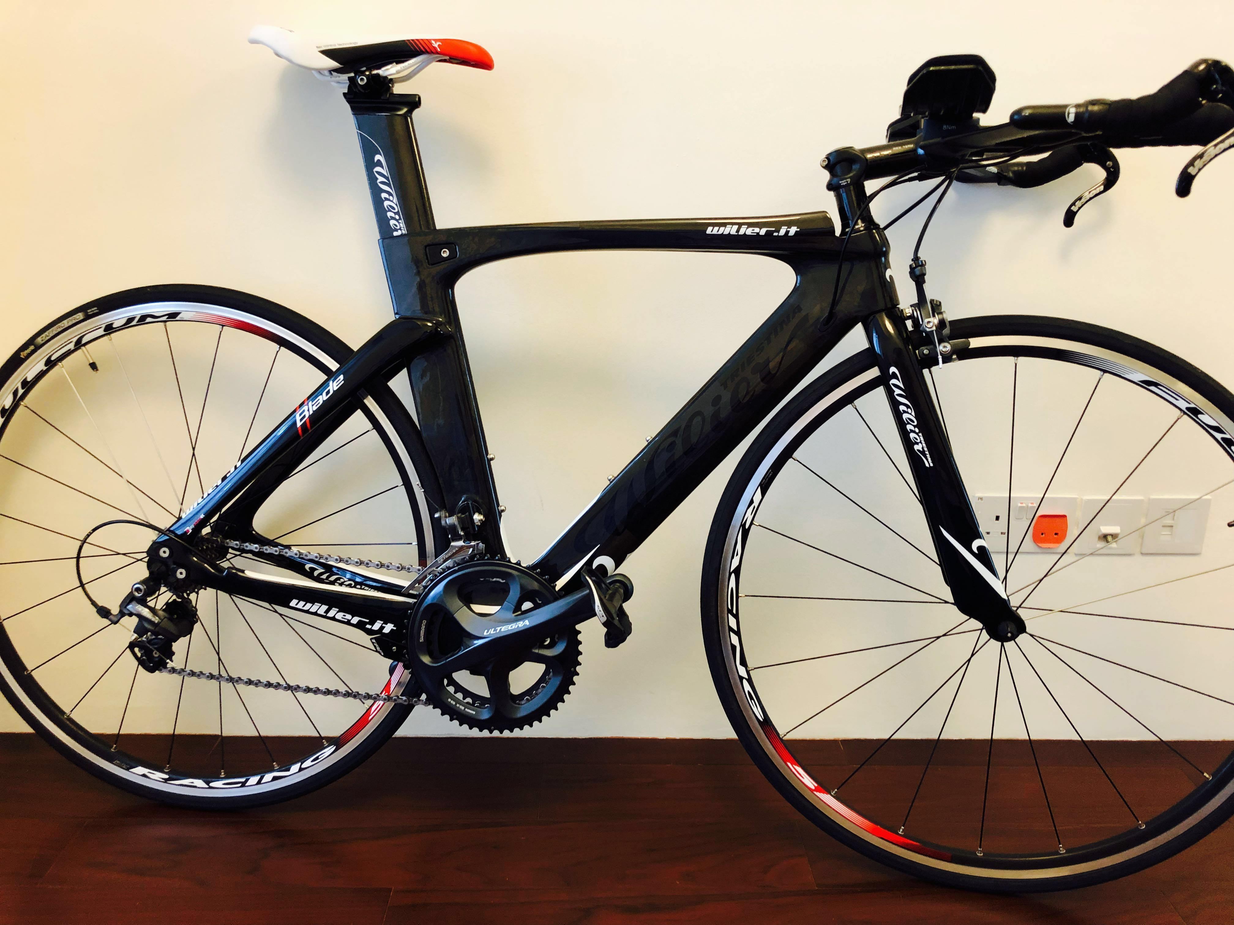 b6aa7628d10 Wilier Blade Ultegra Tri Bike, Bicycles & PMDs, Bicycles, Road Bikes on  Carousell