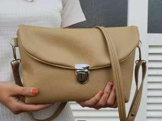 Jual tas selempang wanita sofia semi kulit WA 081221935721