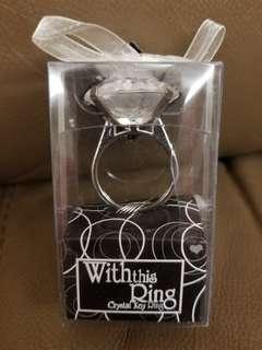 戒指鎖匙扣 戒指 鎖匙扣 keychain