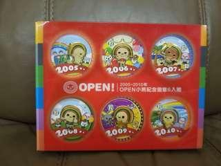 台灣Open小將 特別版襟章 心口針 襟章 open小將