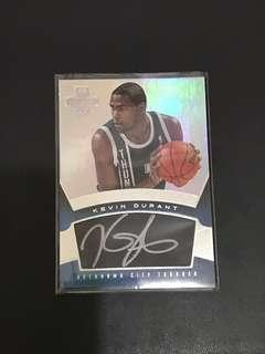 NBA Card Kevin Durant Autograph