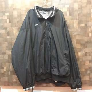 古著Reebok基本款黑色風衣