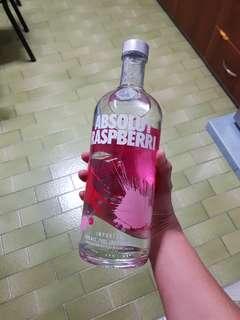 Instocks! 1 Liter Absolut Vodka