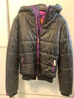 100% real & new Superdry sport/ ski ladies woven jacket 全新正貨極度乾燥女裝外套