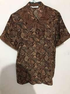 Kemeja Batik Keris
