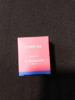 🚚 Laneige Lip Sleeping Mask in berry 20g