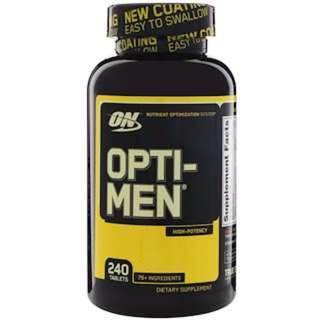 Opti-Men 240 Tablets by Optimum Nutrition