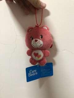 Care bears 粉紅熊吊飾