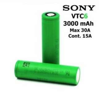 18650 Batteries Battery Cell [Samsung 30Q | Sony VTC6 | LG MJ1]