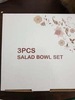 3 Pcs Heat Resistant Opal Glassware Bowl Set