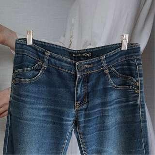 【最低價最低價-7成新】牛仔長褲