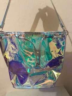 Bentoy Transparant Hologram Bag