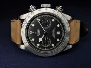 [SOLD] Tudor Black Bay Heritage Chronograph