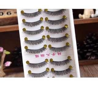 🚚 (3盒)可分售~手工軟梗假睫毛 自然裸妝