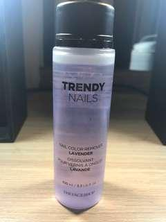 The Face Shop Trendy Nails Remover Lavender
