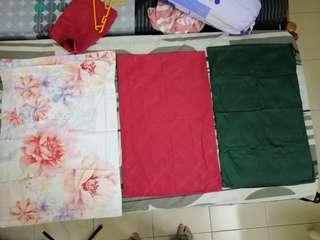 Assorted Pillow Sheets