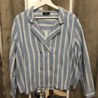 Autograph Co-Ords Top in baby blue
