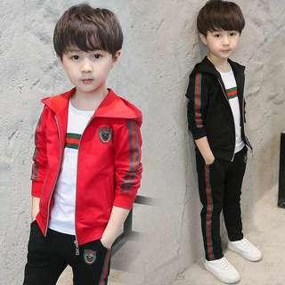 🚚 (Preorder) 2019 New Boy 3pcs Set.Height 110-160cm