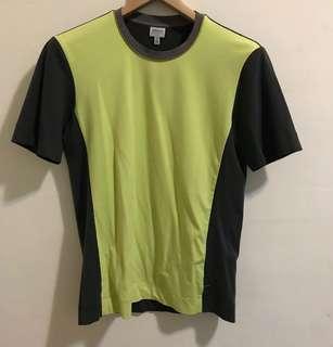 訂價約9000 ARMANI COLLEZIONI 蘋果綠拼接上衣 似HERMES 購於忠孝SOGO專櫃