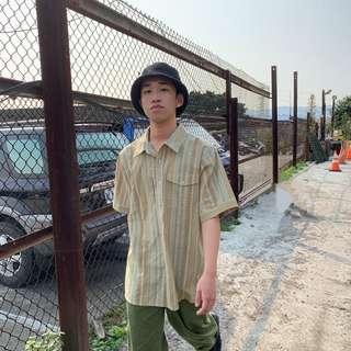 《57shop🦎》「竹子」古著襯衫