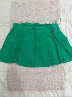 Green Skirt unik design