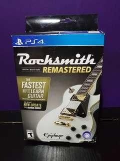 ps4 rocksmith with cable 結他