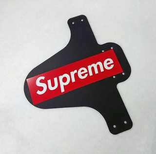Bicycle/Bike Mud Guard with Supreme bogo decal