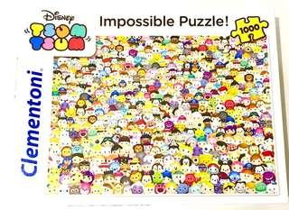 Tsum Tsum Disney Clementoni Puzzle - Impossible Puzzle *Like New*