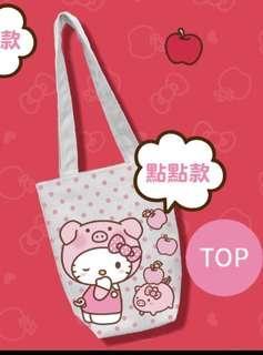 7-11 Hello Kitty金豬年萬用小提包