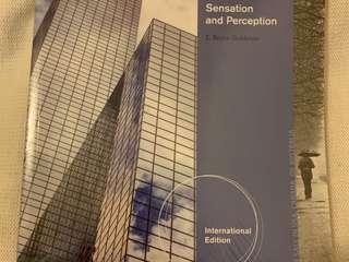Sensation and Perception 9th edition (E. Bruce Goldstein)