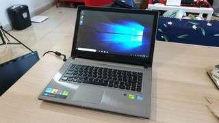 Lenovo Z400 Touch (Core i5, Geforce GT740M, 120GB SSD)