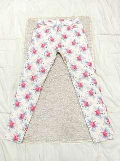 Flower long Pants
