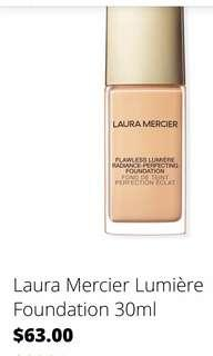 Brand new Laura Mercier foundation 1W1 IVORY