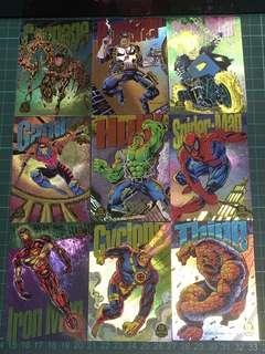 1994年-Marvel漫畫英雄~特別卡全套