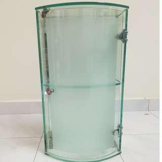 Single Door High Grade 8.M.M Glassfrosted Cabinet