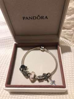 Pandora Bracelet - 6 Charms
