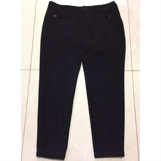 SO-EN Stretch Black Pants