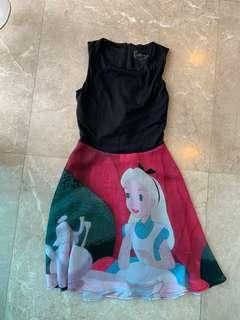 Disney Alice In Wonderland Dress