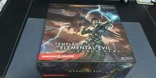 🚚 Dungeons and Dragons Adventure Board Game, Temple of Elemental Evil