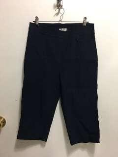 Fitted black 3/4 pants #SwapAU