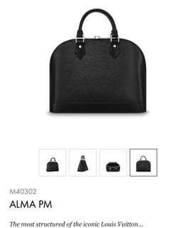 Louis Vuitton - Alma PM