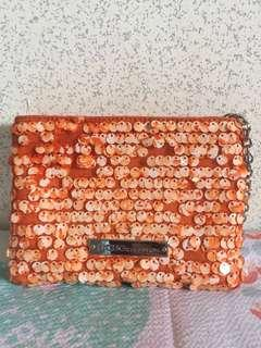 BCBG Bundle Bag and make up pouch