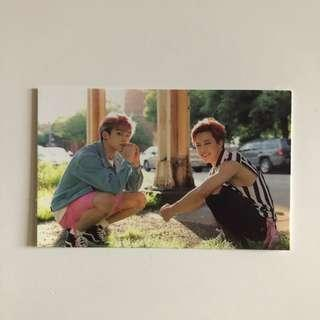 Jimin and Jungkook now3 photocard