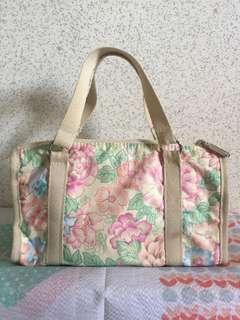 Lesportsac floral two way bag