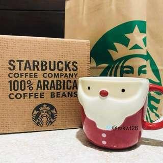 ❄️Instock: Starbucks Korea Holiday Santa Mug 355ml