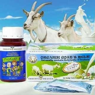 Kids Supplement - Prokids By Essentia Medica Organic Goat's Milk By Essentia Medica