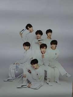BTS Large Wall Sticker