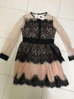 Lace dress XL new with tag