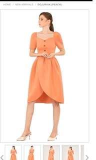 Doublewoot peach dress