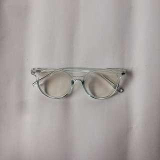 Kacamata Bening Biru